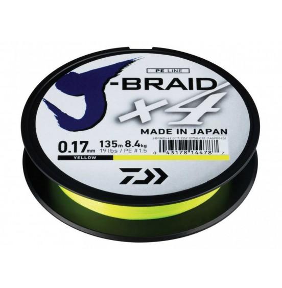 Daiwa KUITUSIIMA J-BRAID X4 0.15mm